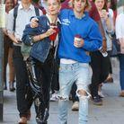 Hailey Baldwin et Justin Bieber dans les rues de Londres