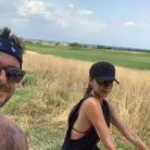 Victoria et David Beckham en Italie