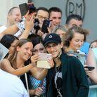 René-Charles avec les fans de céline Dion