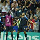 Kylian Mbappé, buteur lors de cette finale
