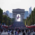 Les Champs-Elysées ce dimanche 15 juillet