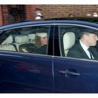 L'arrivée du couple princier
