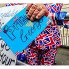 Un spectateur aux couleurs du Royaume-Uni