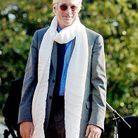 Richard Gere avec son écharpe blanche