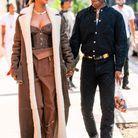Rihanna et A$AP Rocky marchaient main dans la main