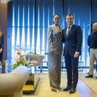 Emmanuel Macron et Rihanna