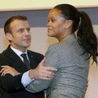 Retrouvailles entre le président et la chanteuse.