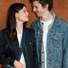 Thomas Solivéres et sa compagne Lucie Boujenah
