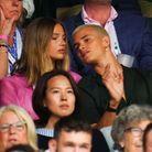 Romeo Beckham était présent à Wimbledon