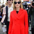 Glamour, après un défilé Dior