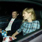 Le couple après un dîner Marc Jacobs, à Londres