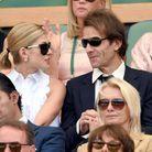 Le couple est habitué des cours de tennis