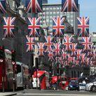Londres se pare du « Union Jack »