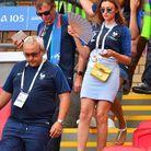 Arrivée en tribune pour France-Argentine