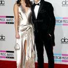 Selena Gomez et Justin Bieber lors des American Music Awards en 2011