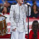 Pink chante l'hymne américain