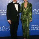 Leprince Albert II de Monaco et l'actrice Sharon Stone