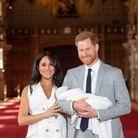 Harry et Meghan Markle radieux, présentent leur enfant