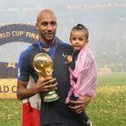 Steven Nzonzi et sa fille