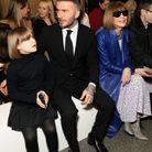 David Beckham, Harper et Anna Wintour