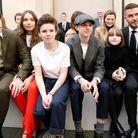 Brooklyn et sa petite amie Hana, Cruz, Romeo, Harper et David Beckham
