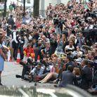 La foule des journalistes