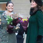 Victoria de Suède et Kate Middleton