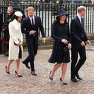 William, Harry, Kate et Meghan