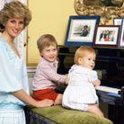 Avec la princesse Diana