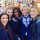 Les anciennes « Desperate Housewifes » Eva Longoria et Felicity Huffman avec Rachel Platten, Alfre Woodard et Elizabeth Banks