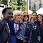 Lupita Nyong'o prend la pause avec Elizabeth Banks, Felicity Huffman, Olivia Munn et Eva Longoria