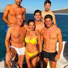Zidane, sa femme et ses quatre fils