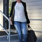 Le jean de grossesse