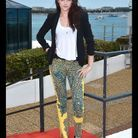 """Kristen Stewart en Balenciaga pour le photocall de """"Sur La Route"""" à Cannes"""