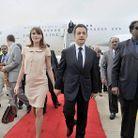 People diaporama carla bruni inde arrivee aeroport