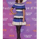 En petite robe bleue