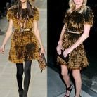 Kate Bosworth en Burberry Prorsum