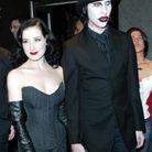 Dita von Teese et Marilyn Manson en 2005