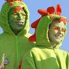 En monstre vert