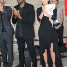 Kim Kardashian et Kanye West à la fashion week de Paris
