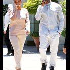 Kim Kardashian et Kanye Westsont habillés identiquement et font même les mêmes gestes !