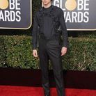 Son harnais Louis Vuitton aux Golden Globes