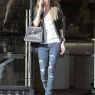 Le jean troué par Nicky Hilton