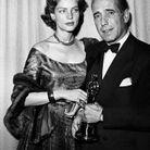 Lauren Bacall en Christian Dior