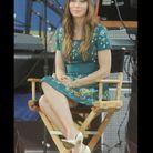 Jessica Biel porte du brocart