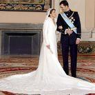 Sa robe de mariée