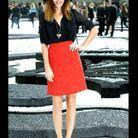 Lou Doillon fashion week Chanel