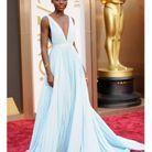 En robe Prada aux Oscars 2014