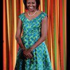 Le 20 août 2012 : Michelle Obama donne un dîner à la Maison Blanche