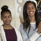 Malia et Sasha Obama